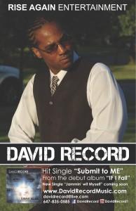 David Record's UK Tour