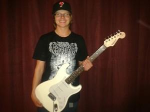 Guitar Sweepstakes Winner Stephen Zabudney