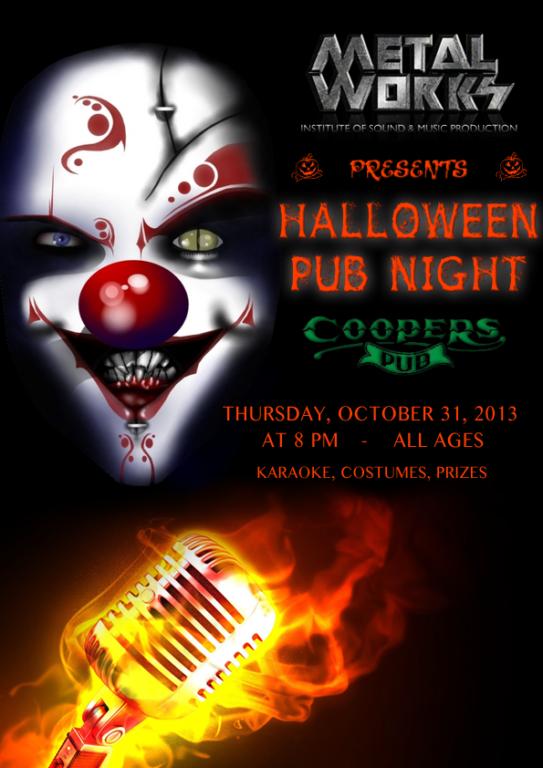 Halloween Pub and Karaoke Night