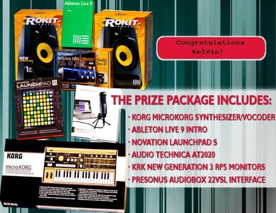 Digital Music Sweepstakes Announces Winner!