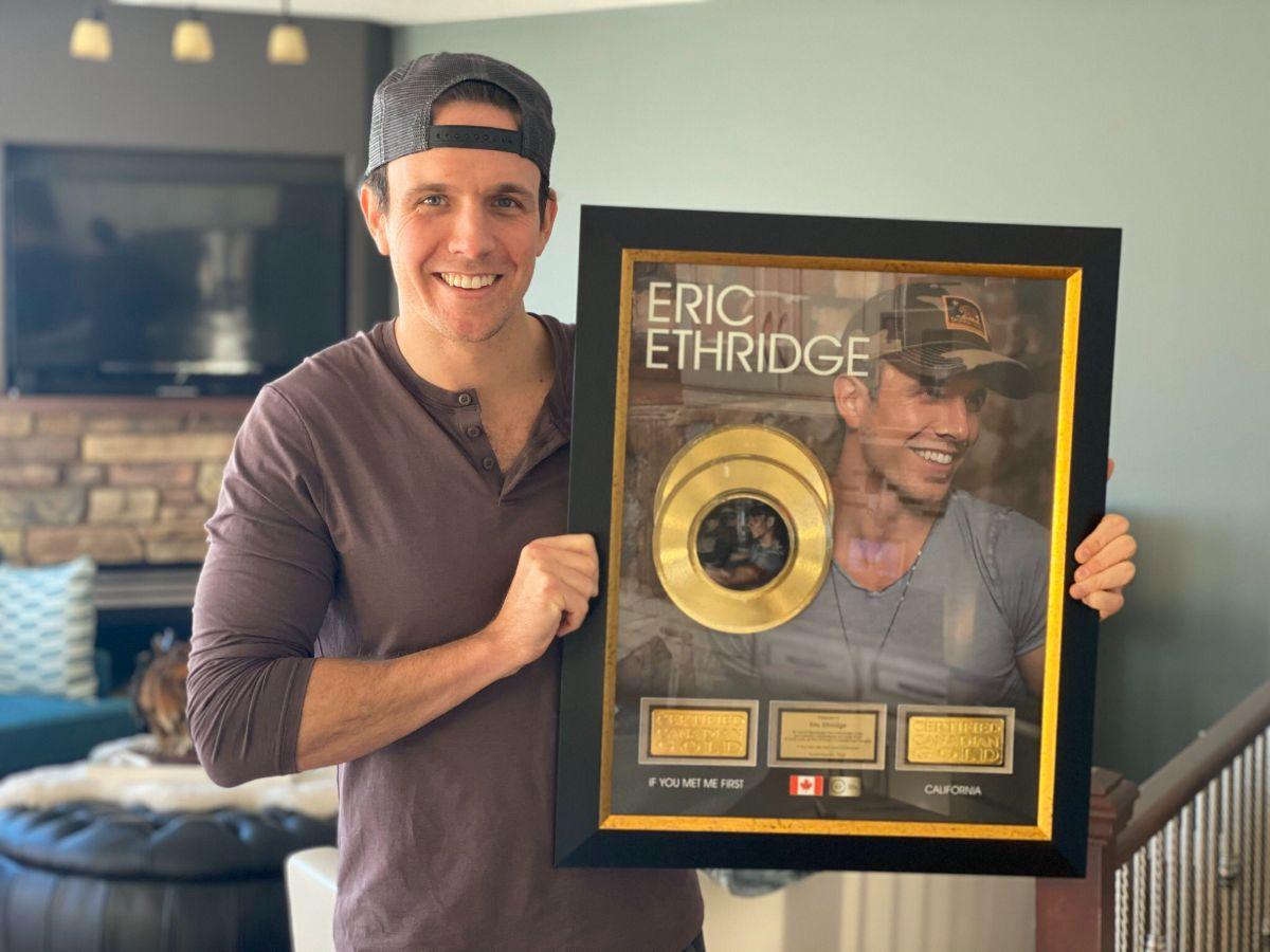 Eric Ethridge Gold Record